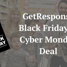 GetResponse Black Friday Deal
