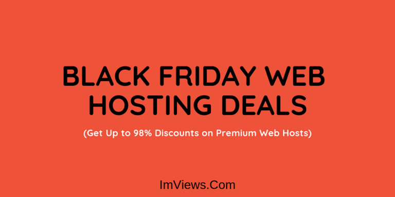 best black Friday web hosting deals