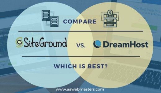 dreamhost and siteground