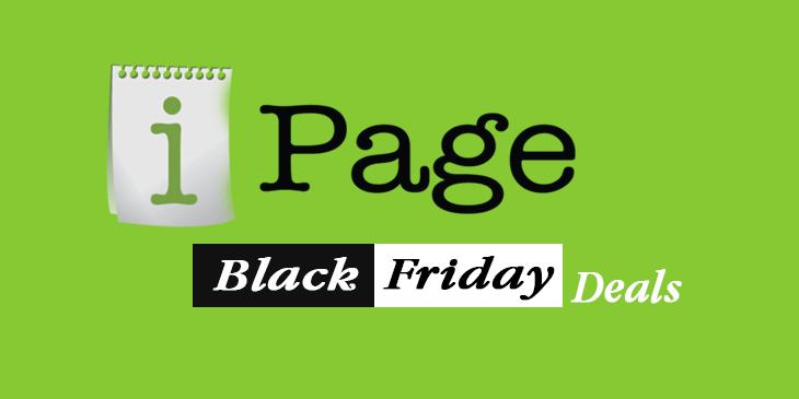 ipage hosting black friday deal
