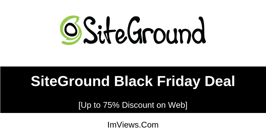 siteground black friday deal