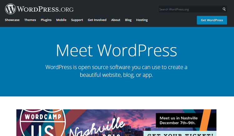 Blog Tool Publishing Platform and CMS — WordPress