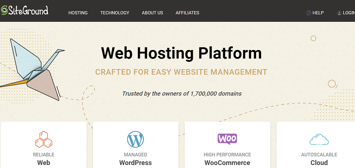 SiteGround Web Hosting Services