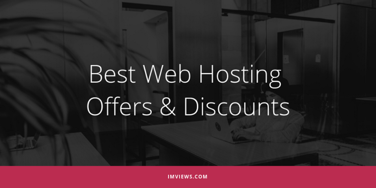 best web hosting offers & discounts