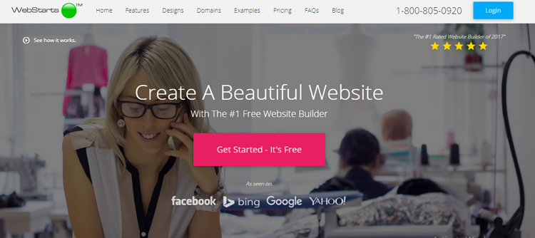 webstarts site builder